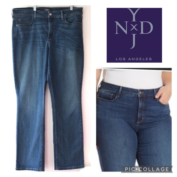 16W NYDY Billie mini bootcut jeans